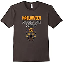 Happy Halloween T-Shirt Costume Skull Trick Or Treat
