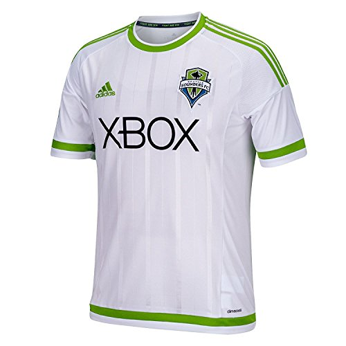 MLS Seattle Sounders Fc Boys Youth Replica Short Sleeve Jersey, Large, White