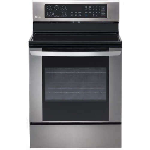 Price comparison product image LG 6.3 Cu Ft Stainless Steel Electric Single Oven Range