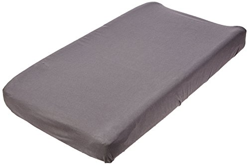 SheetWorld Fitted Cradle Sheet - Dark Grey Jersey Knit - Made In USA by SHEETWORLD.COM