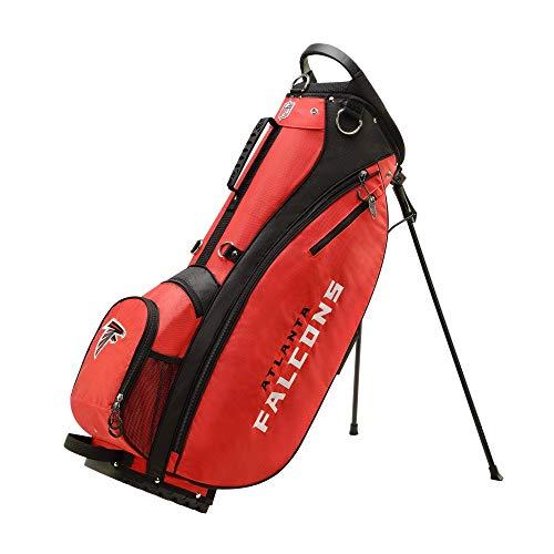Wilson 2018 NFL Carry Golf Bag, Atlanta Falcons (Renewed)