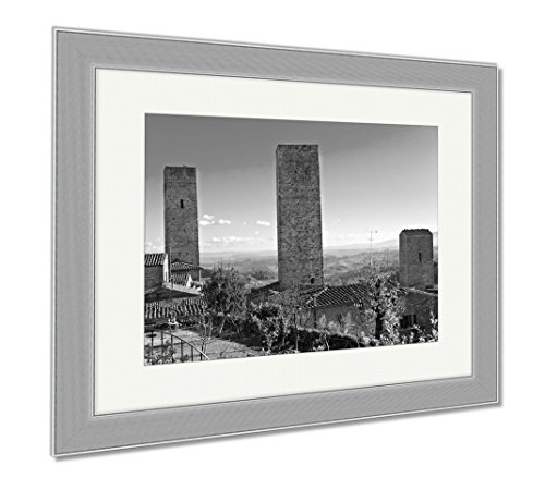 Ashley Framed Prints Peoples Committee Building In Ho Chi Minh City Vietnam  Wall Art Home Decoration  Black White  30X35  Frame Size   Silver Frame  Ag5921035