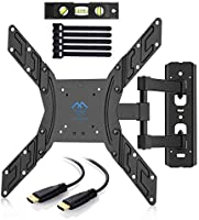 TV Wall Mount Bracket for LED, LCD, OLED, Plasma Flat Screen TVs