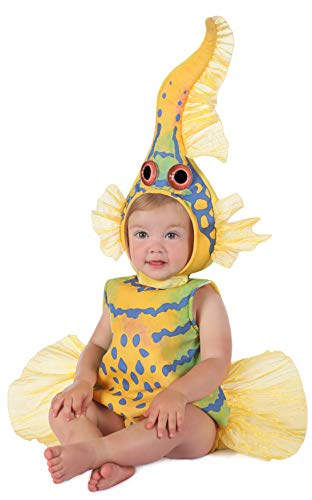 Anne Geddes Clothes For Babies (Princess Paradise Baby's Anne Geddes Yellow Gobi Fish Costume, 6-12)