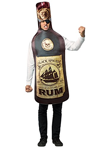 Get Real-Rum Bottle&Eye Patch -