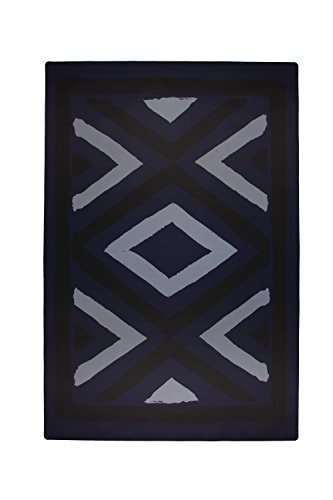 TRIBE WEST Baby Playmat Easy Clean Large Non-Toxic Activity Floor Mat for Crawling Babies, Toddlers, Boy or Girl, Natural Rubber, Durable, Indoor and Outdoor, Designed With Artisans (Arusha Shanga) by Tribe West