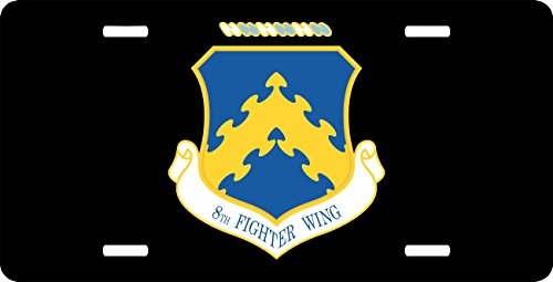 MilitaryBest US Air Force 8th Fighter Wing License Plate