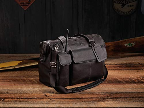 Lightspeed Aviation - The Gann, Leather Flight Bag | 4112