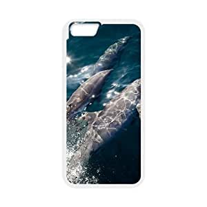 """Hjqi - Custom Dolphins Phone Case, Dolphins Personalized Case for iPhone6 Plus 5.5"""""""