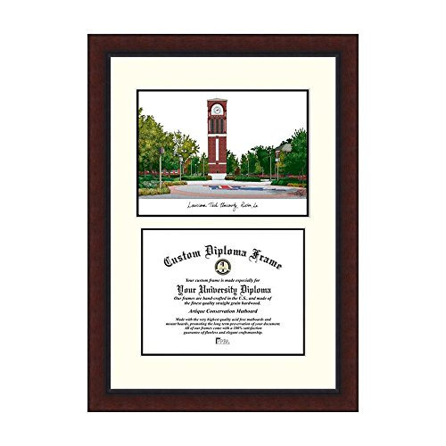 Campus Images NCAA Louisiana Tech University Legacy Scholar Frame by Campus Images