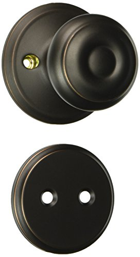 - Schlage F94-GEO Georgian Knob Dummy Interior Pack from The F-Series, Aged Bronze