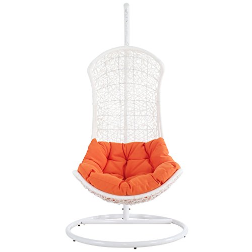 Modway The Endow Rattan Outdoor Wicker Patio Swing Chair Set (Furniture 1 Import)