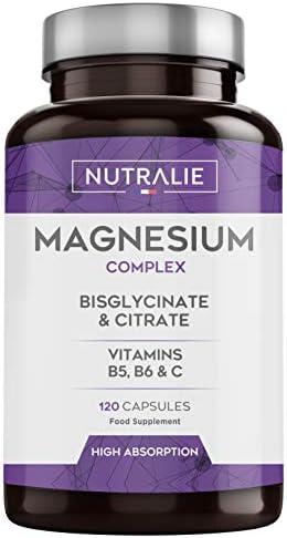 Magnesio con Vitaminas B5, B6 y C  