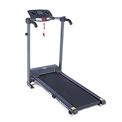 Easy Assembly Motorized Folding Treadmill by Sunny Health & Fitness - SF-T7613