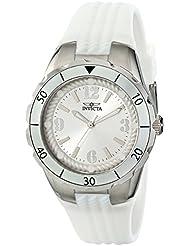 Invicta Womens 17479 Angel Analog Display Japanese Quartz White Watch