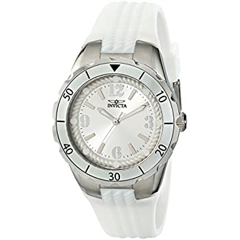 Invicta Womens 17479 Angel Analog Display Japanese Quartz White Watch