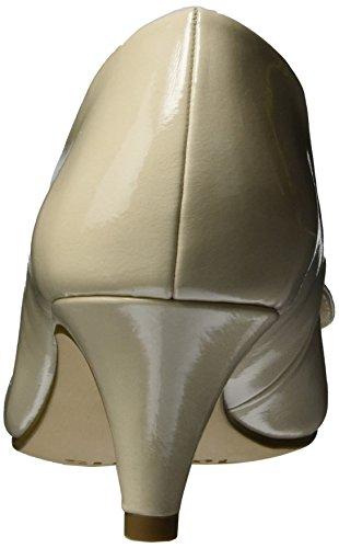 Tamaris 22453, Escarpins Femme Beige (Cream Patent 452)