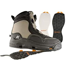 Korkers WhiteHorse Wading Boot with Felt and Kling-On Outsoles