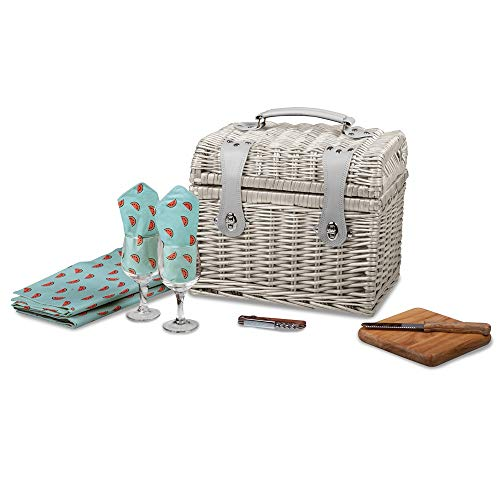 Jewels By Lux Napa Watermelon Picnic Basket