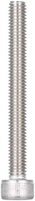 Festnight Vis dassemblage /à t/ête hexagonale /à six pans creux en acier inoxydable M5 DIN912-A2