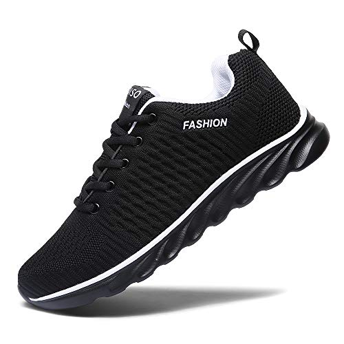 XIDISO Mens Running Shoes Women Lightweight Slip On Sneakers for Men Cross Training Athletic Gym Tennis Sports Walking Shoe