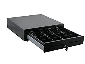 EC-410 DigiPos Cash Base Drawer in Black inc two keys. Ideal for most EPOS systems or standalone use., [Importado de Reino Unido]