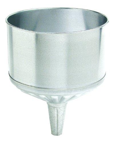 Plews 75-004 Steel Galvanized Funnel - 8 Quart (Galvanized Funnel)