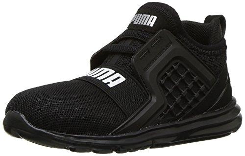 PUMA Baby Limitless Velcro Wide Kids Sneaker, Black, 4 W US ()