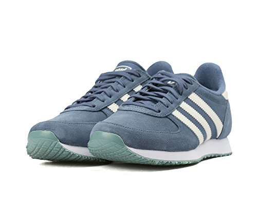 Adidas Original Mujeres Classic Tenis Zx Racer Zapatos Sneakers Tech Ink / Off White