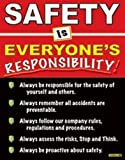 "#1131A - Safety is Everyone's Responsibility Laminated Safety Poster, 18"" x 23"" from"