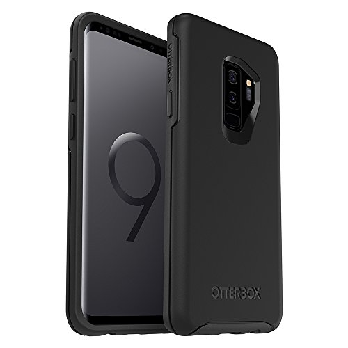 (OtterBox SYMMETRY SERIES Case for Samsung Galaxy S9+ - Retail Packaging - BLACK)
