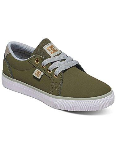 Dc Shoes Council - Zapatos Para Chicos (Niños/Kids) GREEN/GREY/WHITE