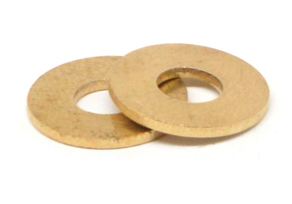 #10 Flat Washer Small Pattern Brass Pk 100