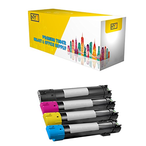 New York Toner New Compatible 4 Pack High Yield Toner for Dell 5130 BK C M Y - 5130CDN | 5120 | 5140CDN. --Black Cyan Yellow Magenta by New York Toner