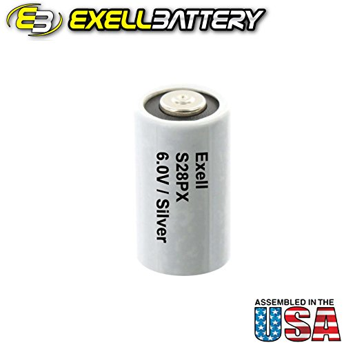 Ex-Cell Metal EXCELL Battery S28PX Battery Silver Oxide 6V