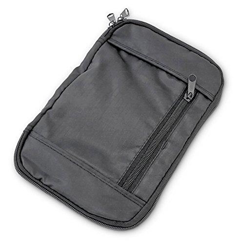 Gürteltasche mit großer Innentasche und Reißverschluss