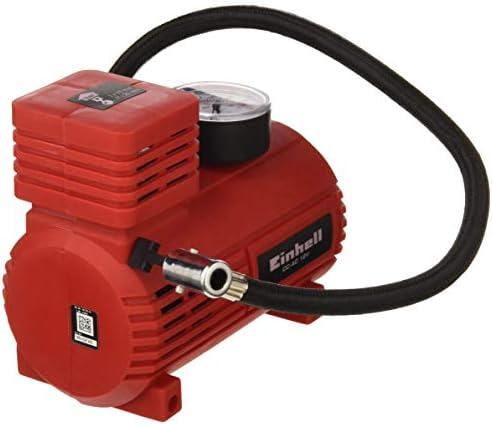 Einhell 2072112 Compresor de Automocion CC-AC conexión 12 v, Rojo: Amazon.es: Coche y moto