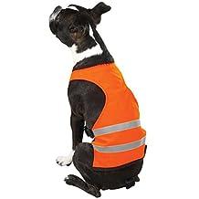 Guardian Gear Polyester/Nylon Safety Dog Vest, Small, 12-Inch, Orange