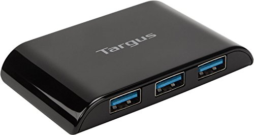 Targus 4-Port USB 3.0 SuperSpeed Hub with AC Adapter and 5-Foot Cable (ACH119US) from Targus