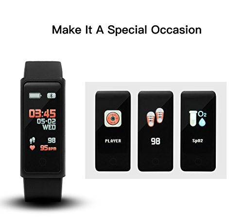 Fitness Trackers - Career M Fitness Tracker Activity Watch with