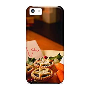 Kallard OFBhISo5388OaOFF Protective Case For Iphone 5c(cookies For Santa Carrots For Rudolph)