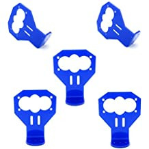 5pcs Blue HC-SR04 Cartoon Ultrasonic Distance Sensor Mounting Bracket Kit