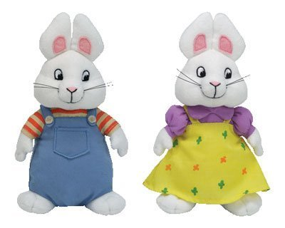 Ty Beanie Baby Max & Ruby Set by Nickelodeon