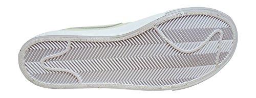 Nike Mens Blazer Studio Qs Ankel-hög Läder Fashion Sneaker Weiß