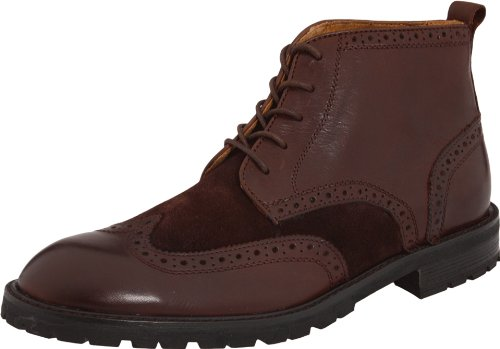 Flors Mens Gaffney Boot-vingspets Brun