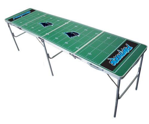 Carolina Panthers 2x8 Tailgate Table by Wild Sports