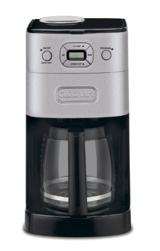 Cuisinart Automatic Coffeemaker Features Adjustable