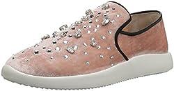 Giuseppe Zanotti Women S Rw70093 Fashion Sneaker Blush 7 5 M Us