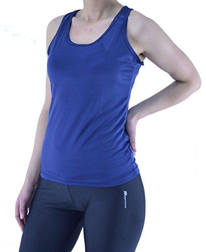Rond Col T Femme shirt Sportswear Aa Marine Bleu Sport De q4XYa4wU