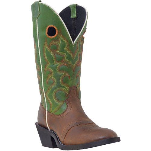 Laredo Men's Buckaroo Western Boot (8.5 EW, - Buckaroo Boots Western